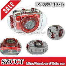 2015 HD 720P Touch Screen Sports Action Camera Mini Digital Camcorder with Waterproof Case Sports Video Camera