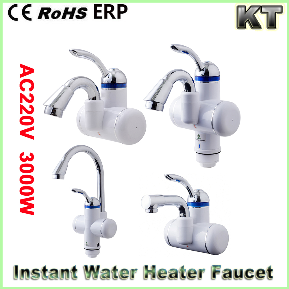 Tankless electric water heater instantaneous water heater faucet mount