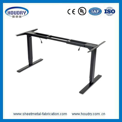 China electric adjustable sit stand desk manufacture office desk furniture