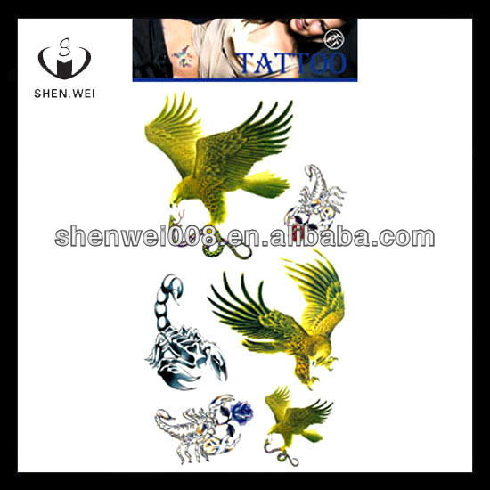 eagle diamond springs wall tattoo decoration paper