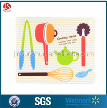 High quality eco-friendly printed kid's placemat
