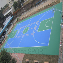 plastic inflatable water-proof tennis court outdoor rubber sports flooring