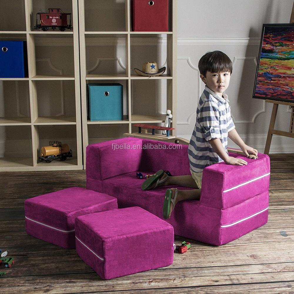 Foam Kid Sofa Bed Multi-function Soft Sofa Chair