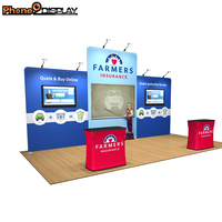 Good quality comfortable new design best trade show display creative displays cosmetic booth