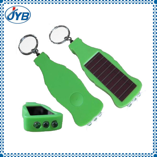 promotional solar flash led key chain light for sales
