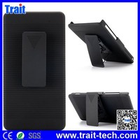 2 in 1 Detachable Holster Combo PC Hard Belt Clip Case for Sony Xperia Z2a D6563 with Kickstand