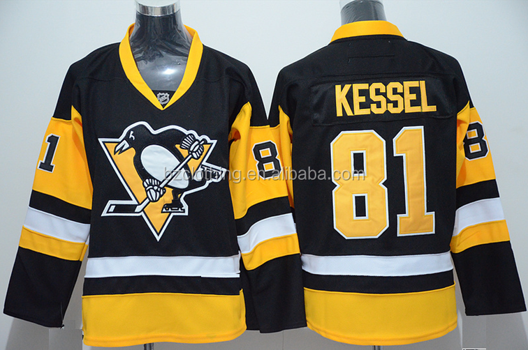 Pittsburgh Penguins #81 Phil Kessel Black National Ice Hockey Jersey