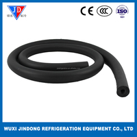 Thickness wall insulation pipe 38*19mm, HVAC parts insulation tube, air conditioning copper pipe insulation