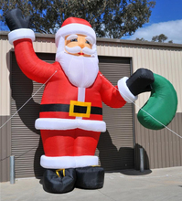 2017 hot-selling Giant Christmas Inflatable, holiday Inflatable Santa Claus for sale