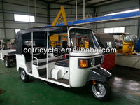 8 passenger seat bajaj three wheel taxi tricycle