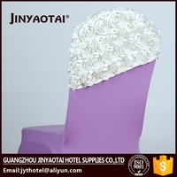 chinese cheap ivory cheap chair covers organza sashes