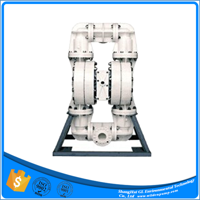 anticorrosion portable pneumatic double diaphragm pump