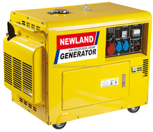 186FA diesel engine 5KW Air-cooled Electric diesel power generator