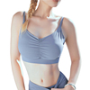 Women Cool Fit Ultra Support Sport Fitness Workout Running Gym Yoga Tops