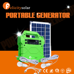 2016 Guangzhou felicity factory wholesale portable residential solar power kit
