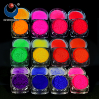 1pcs Fluorescent phosphor Nail Art Pigment, Neon Powder, UV pigment powders