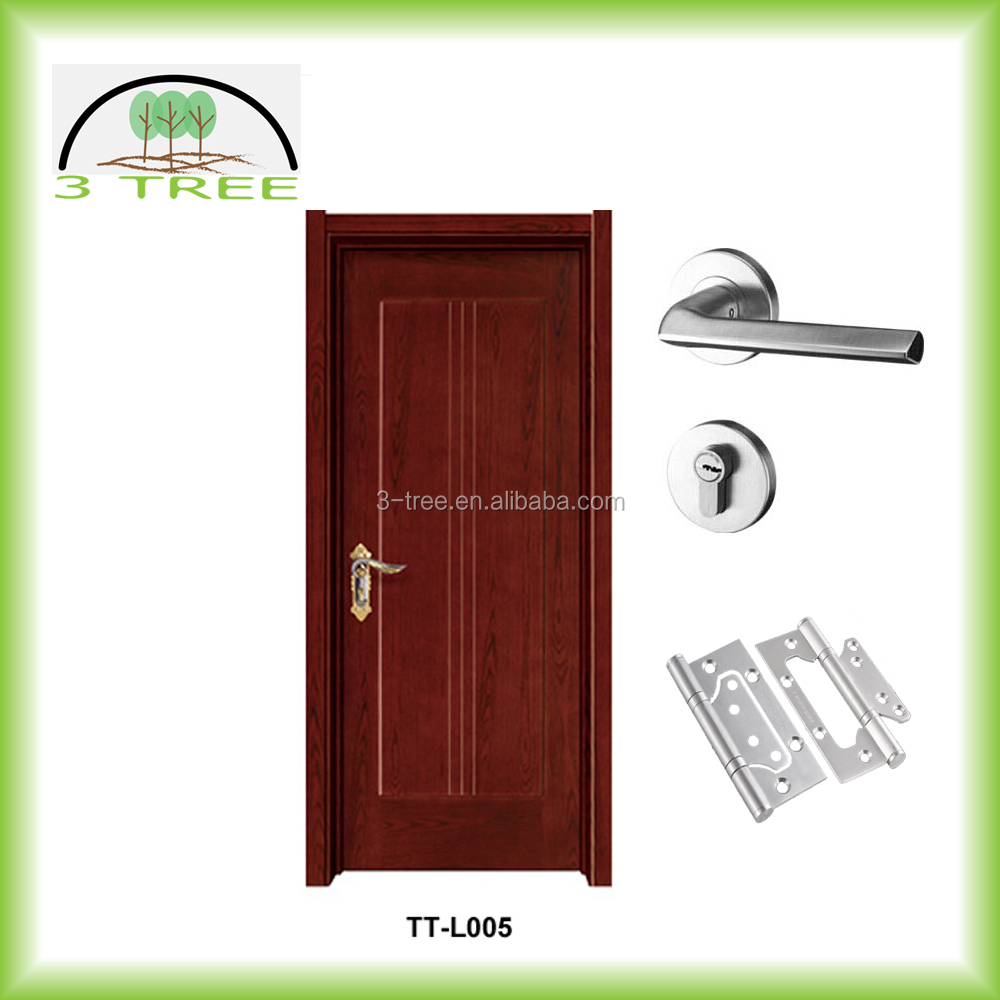 Fantastic timber lacquered door design