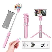 Selfie Stick Tripod with Remote Bluetooth 2018 New Best Selfie Stick Monopod Tripod for Smart Phone