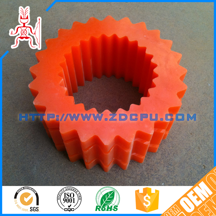 Hot sale PTFE useful high precision nylon plastic timing gear