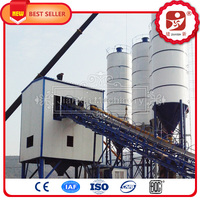 Hot sale!!! Enviroment-Friendly High Quality Accurate Control European Standard concrete batching plant process flow