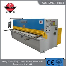 Frofessional manufacturer 6X3200mm metal cnc plate shearing machine