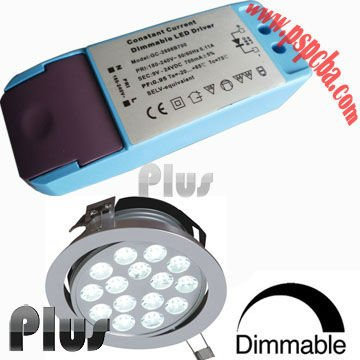 Dimmable led driver for biorb led light (CE, ROHS, FCC approved)