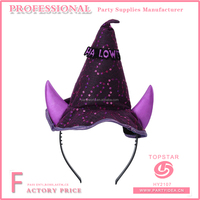 Halloween Party Cosplay Devil Witch Ox Horn Headband