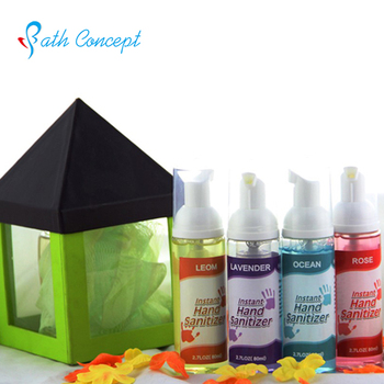 The latest customized fragrance gel hand sanitizer