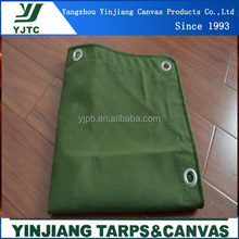 pvc military canvas tarpaulin