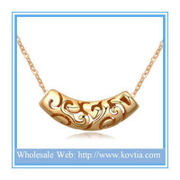 24k Yellow Gold Men Fashion Design simple gold chain old fashioned gold necklace
