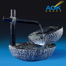 Garden Tabletop Resin Water Fountain For House Decoration
