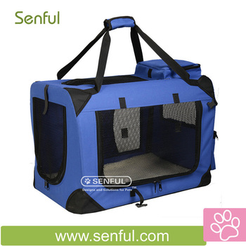 Dog Crate Pet Pet Soft Crate Large Animal Cage
