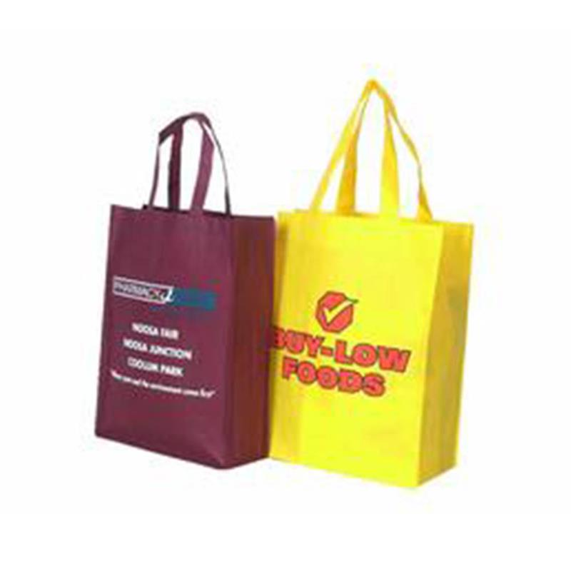 Good Cutting and Sewing Printing Non-woven Shopping Bag