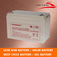 Longlife Lead Acid Battery 12V 100AH for high rate capacity