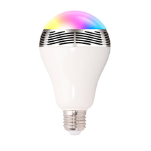 2016 hot sale music group 3w Bluetooth speaker led bulb E27 led lamp with Smart phone APP controlled