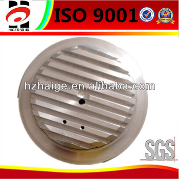 Customized round aluminum die casting powder coated modern LED ceiling lamp shade