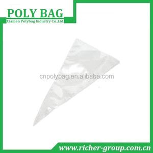 High Quality Clear Poly Plastic Flower Bags hot sale