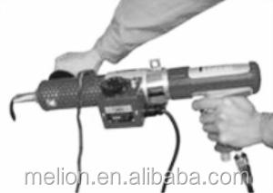 Handheld tire retreading tool Extruder Gun
