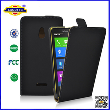Good Quality Luxury Top Flip Leather Case Cover for Nokia XL -Laudtec