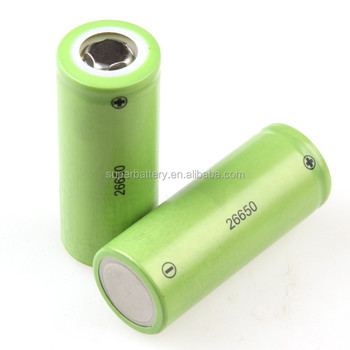 Rechargeable 26650 Lithium ion Phosphate 3.2V 2500mAh round battery