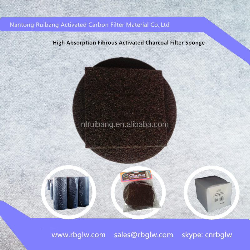 manufacturing gas disposal activated carbon fiber cloth