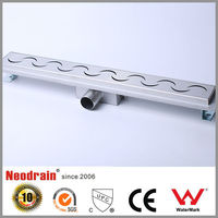 4 inch stainless steel shower channel