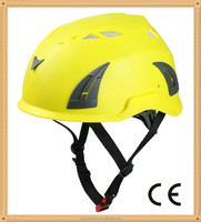 customized safety helmet for aerial cable worker, Tree Safety helmet, engineering rescue helmet
