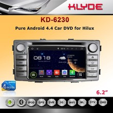 Car DVD Player With USB / Car Half DIN In-Dash DIVX/MP3/CD/DVD Player+USB/SD Slot for Hilux