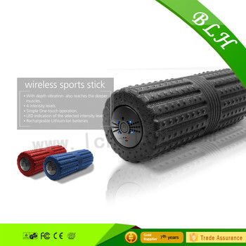 3 Speed Vibrating Electric Eva Foam Roller Relieve Muscle Pain And Stiffness