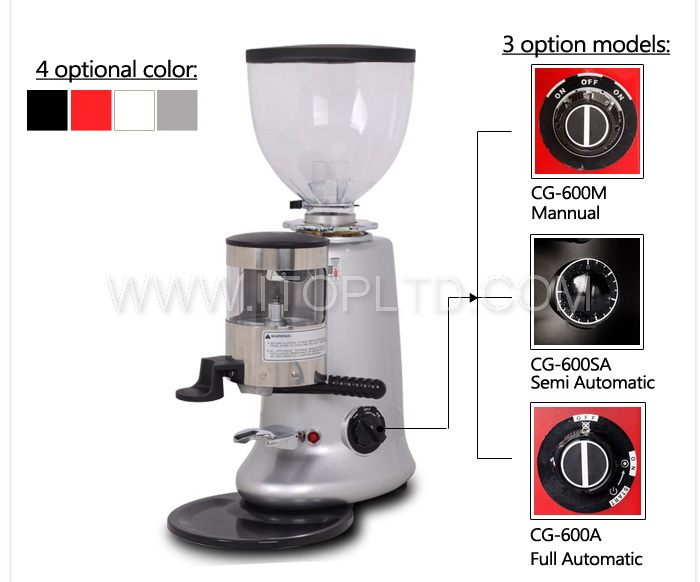 Coffee bean grinding machine