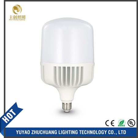 60W High Power LED Bulb Aluminum 2 Years 2700-6500K Warranty Manufactory Zhuchuang Lighting In China