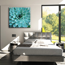 Blue flower coustomized pictures free fabric house painting designs