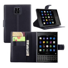 PU Leather Phone Case Cover For Blackberry Passport Q30