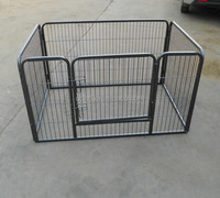 Dog Animal Heavy Duty Playpen Large Metal Hammigrid Wire Folding Exercise Yard Fence 8 Panel Popup Kennel Crate Fence Tent Porta
